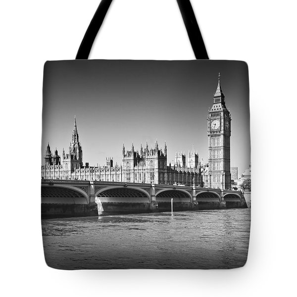 Westminster Bridge Tote Bag by Melanie Viola