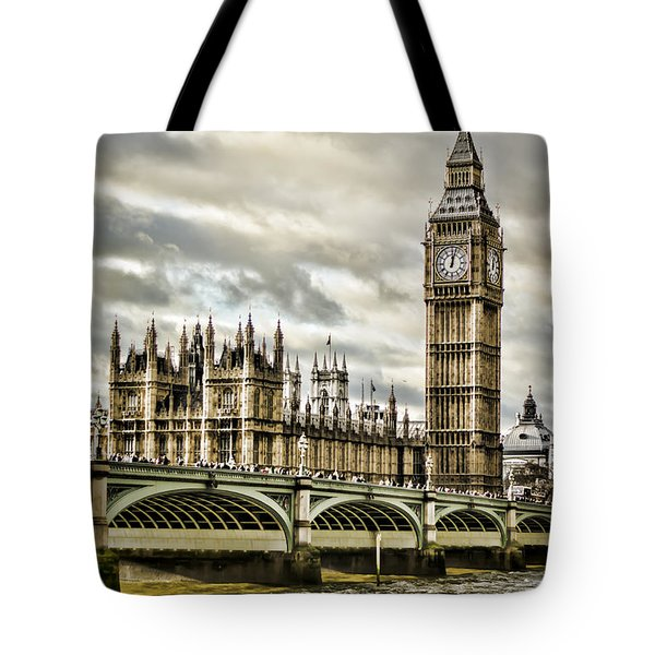 Westminster Tote Bag by Heather Applegate