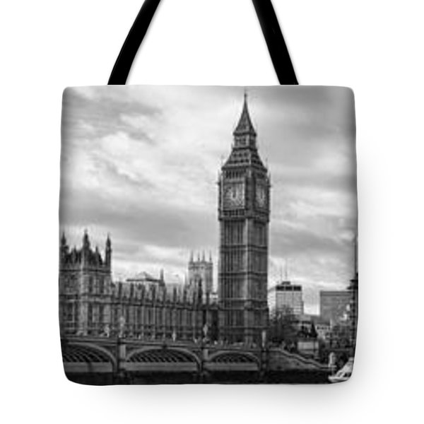 Westminster Panorama Tote Bag by Heather Applegate