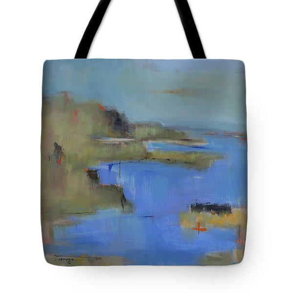 Westport River Tote Bag by Jacquie Gouveia