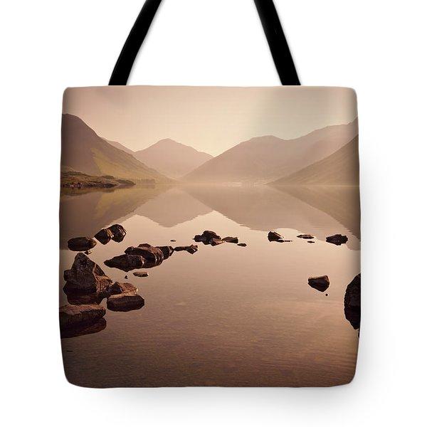 Wetlands Mornings Tote Bag by Evelina Kremsdorf