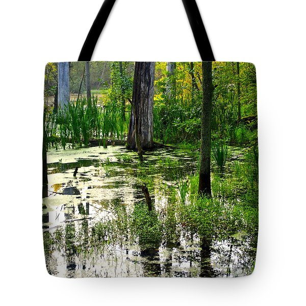 Wetlands Tote Bag by Frozen in Time Fine Art Photography
