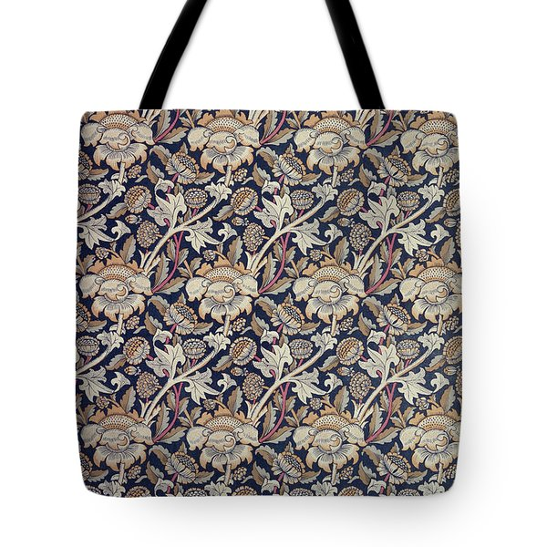 Wey Design Tote Bag by William Morris