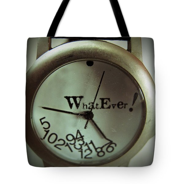 What Ever Tote Bag by Barbara McDevitt