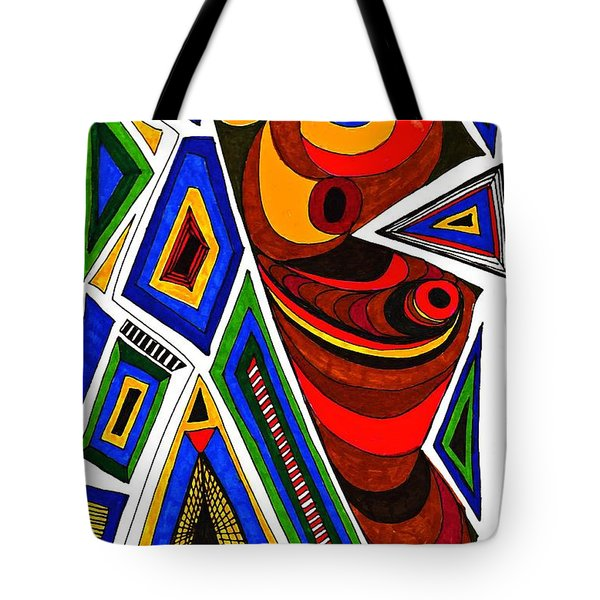 What The Eye Sees Tote Bag by Sarah Loft