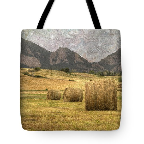 What The Hay Tote Bag by Juli Scalzi