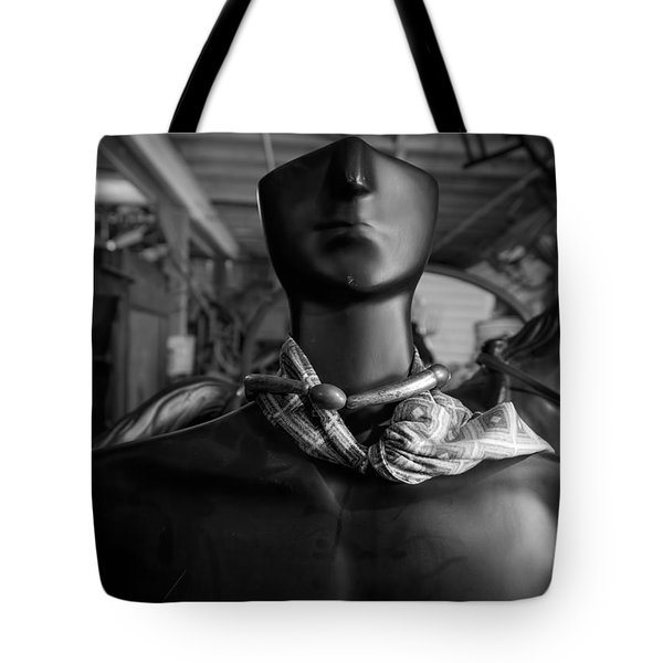 What Will Become Of The Watcher Tote Bag by Bob Orsillo