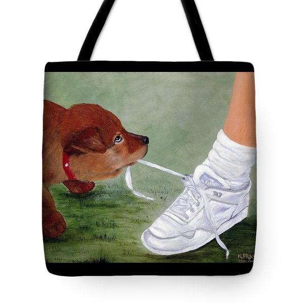 What Ya Gonna Do Tote Bag by Kenny Francis