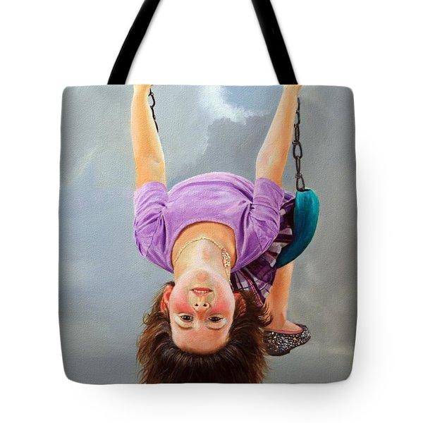 What's Up? Tote Bag by Glenn Beasley