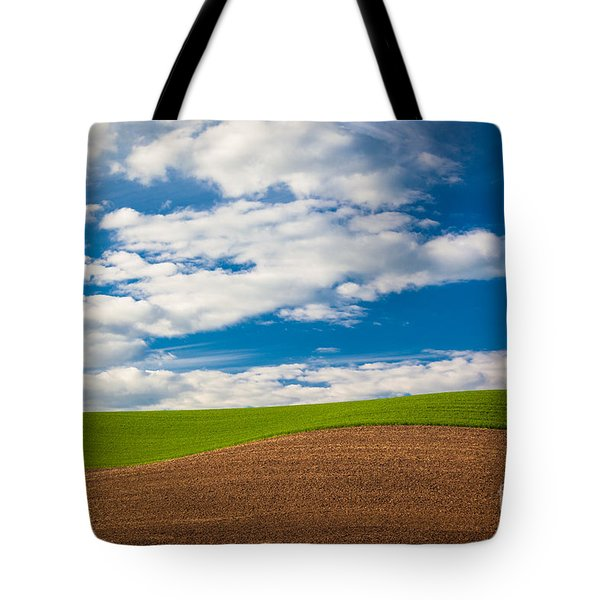 Wheat Wave Tote Bag by Inge Johnsson
