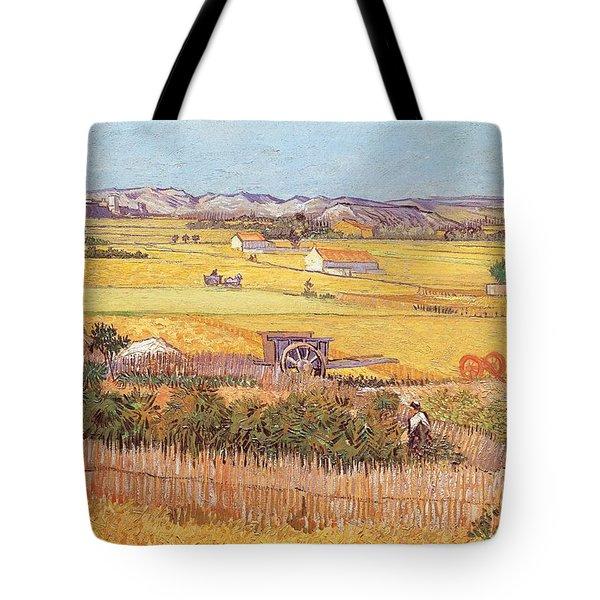 Wheatfields Tote Bag by Vincent van Gogh