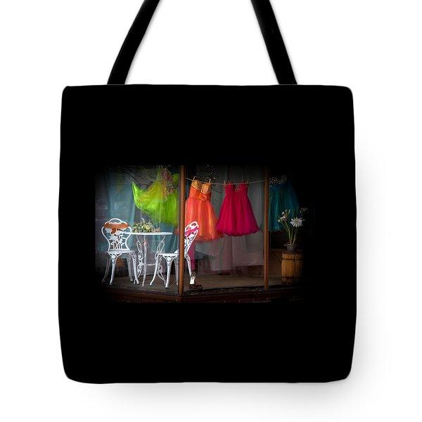 When A Woman Dreams Tote Bag by Karen Wiles