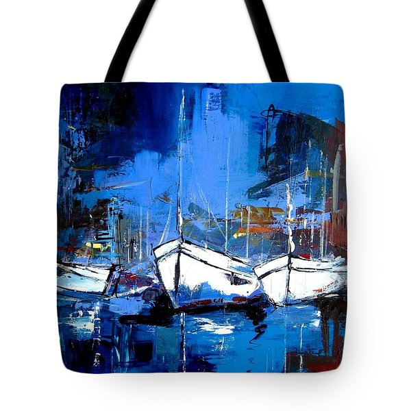 When Evening Comes Tote Bag by Elise Palmigiani