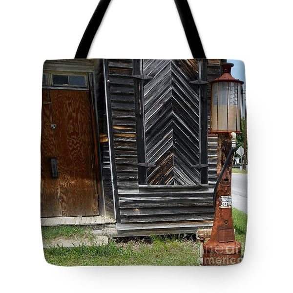 When Gas Was 18 Cents A Gallon Tote Bag by Eloise Schneider