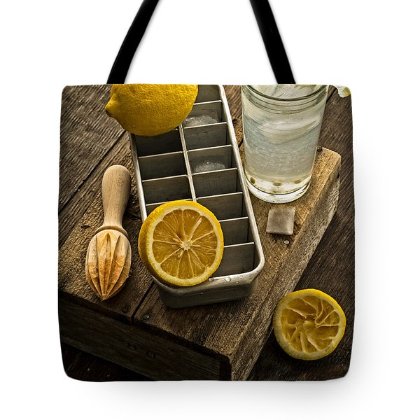 When Life Gives You Lemons... Tote Bag by Edward Fielding