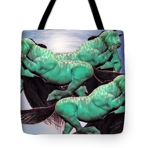 When Lightning Strikes Tote Bag by Betsy C  Knapp