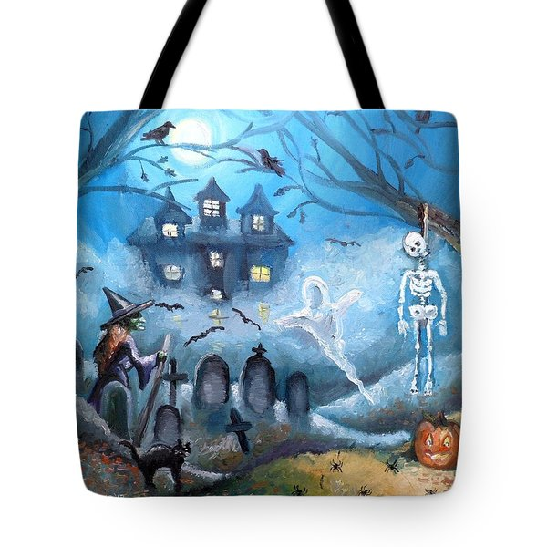 When October Comes Tote Bag by Shana Rowe Jackson