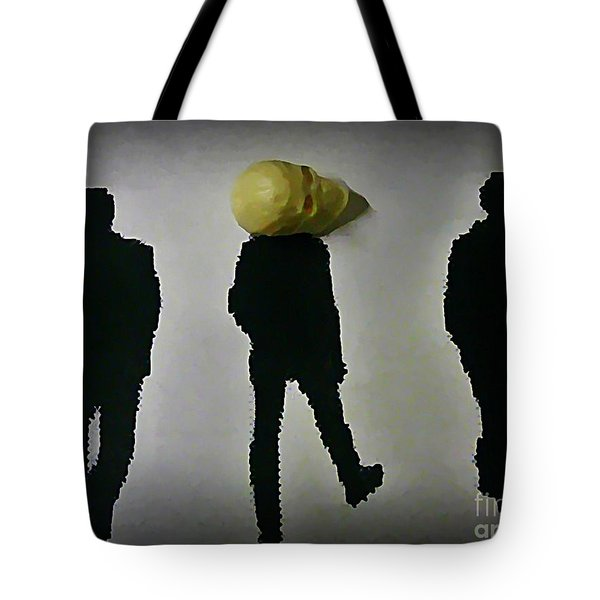 Where Do You Think Your Going Tote Bag by John Malone