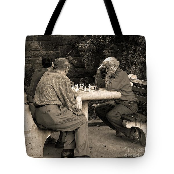 Where Is Bobby Fischer Tote Bag by Madeline Ellis