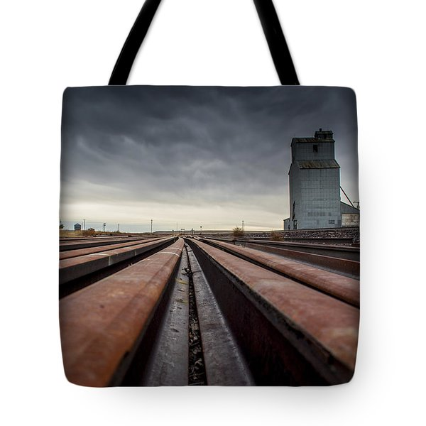 Where It Goes-2 Tote Bag by Fran Riley