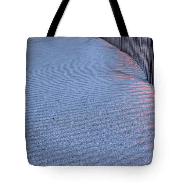 Where the Boardwalk Ends Tote Bag by JC Findley