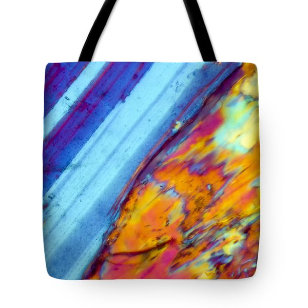 Where The Lava Meets The Ocean Tote Bag by Tom Phillips