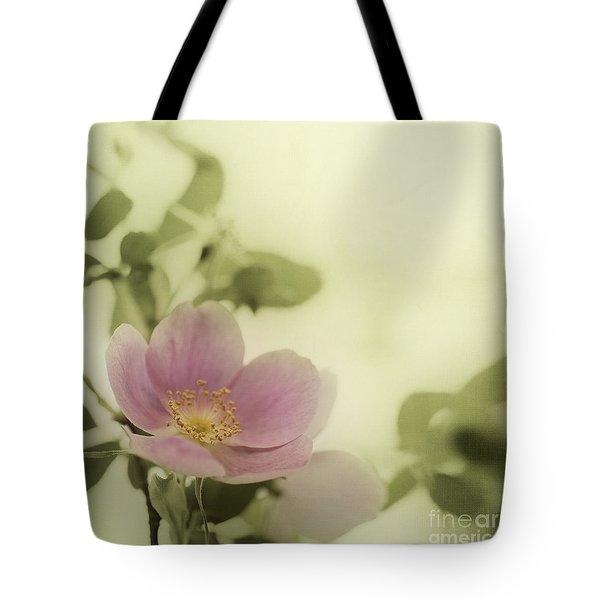 Where The Wild Roses Grow Tote Bag by Priska Wettstein