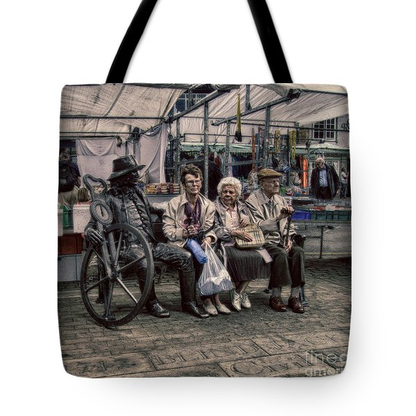 Which One Is the Statue Tote Bag by Michael Braham