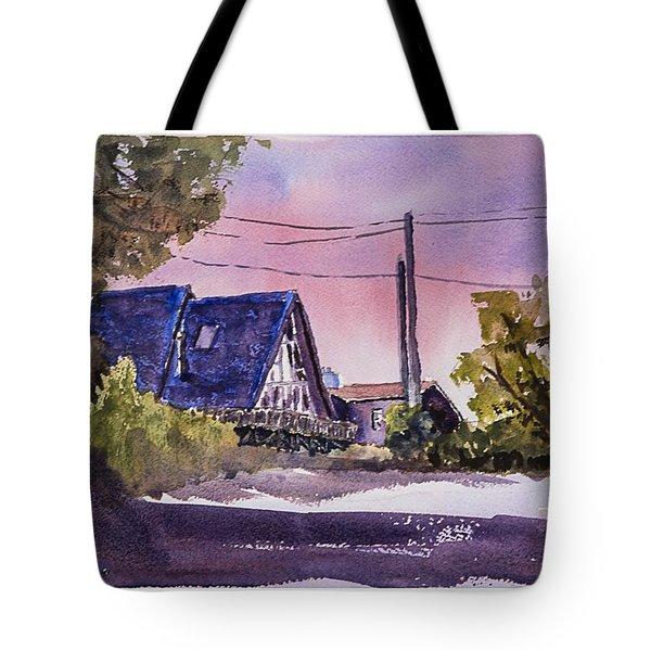 Whidbey Getaway Tote Bag by Barry Jones