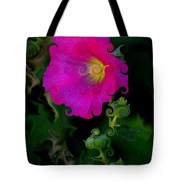 Whimsical Delight Tote Bag by Vicki Pelham