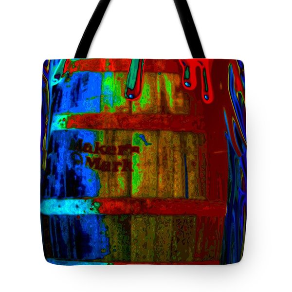 Whiskey A Go Go Tote Bag by Alec Drake