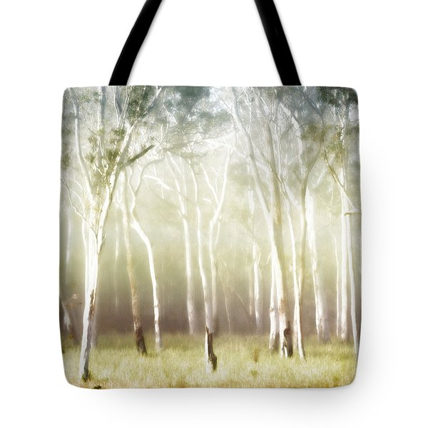 Whisper the Trees Tote Bag by Holly Kempe