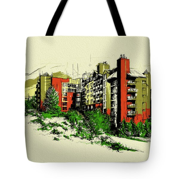 Whistler Art 004 Tote Bag by Catf