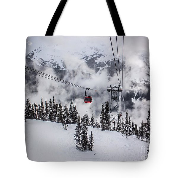 Whistler Blackcomb Weather Tote Bag by Alanna DPhoto