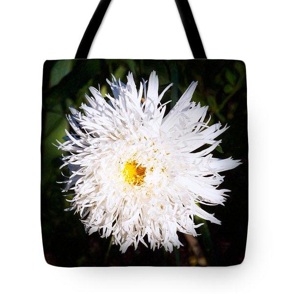 White Beauty Tote Bag by Omaste Witkowski