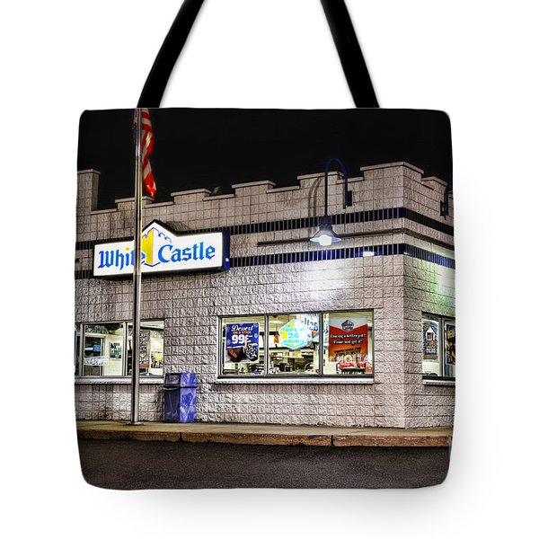 White Castle 2 Tote Bag by Paul Ward