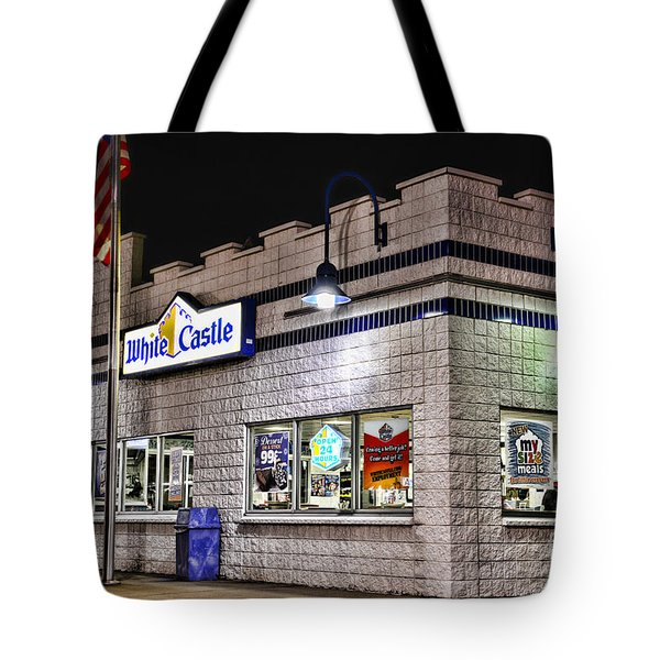 White Castle Tote Bag by Paul Ward