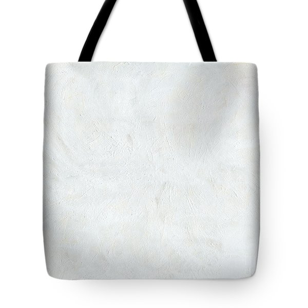 White Color of Energy Tote Bag by Ania Milo