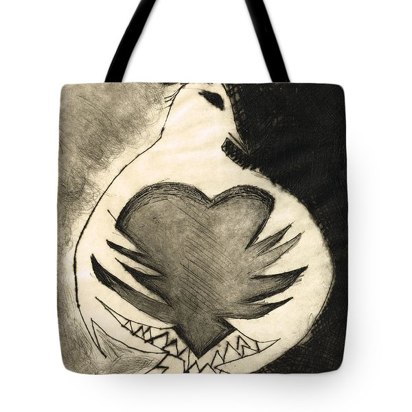 White Dove Art - Comfort - By Sharon Cummings Tote Bag by Sharon Cummings
