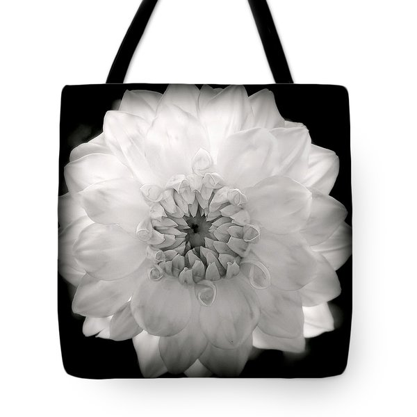 WHITE MAGIC Tote Bag by KAREN WILES
