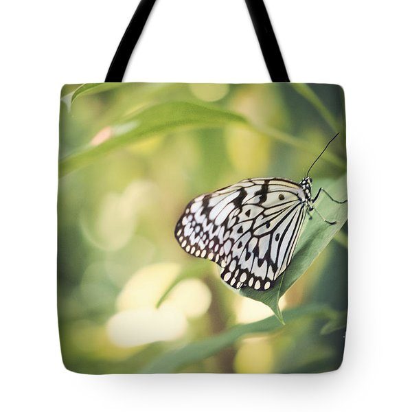 White Tree Nymph Tote Bag by Juli Scalzi