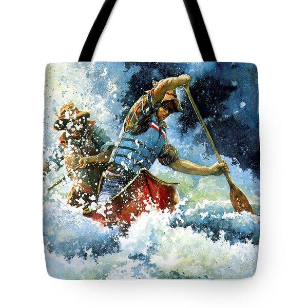 White Water Tote Bag by Hanne Lore Koehler