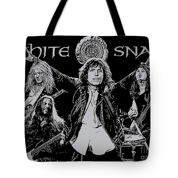 Whitesnake No.01 Tote Bag by Unknow
