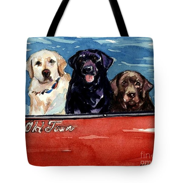 Whole Crew Tote Bag by Molly Poole