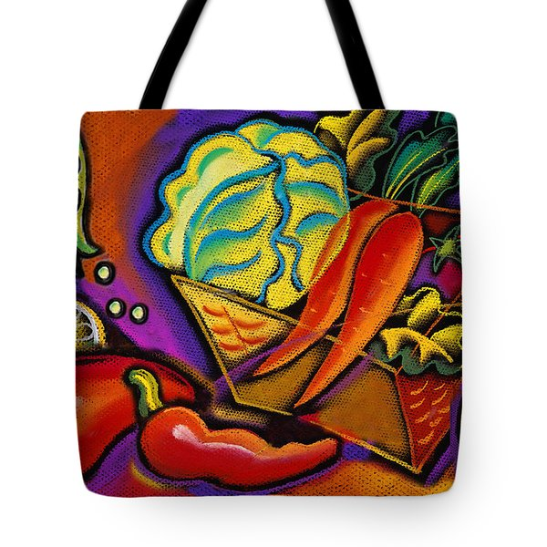 Very Healthy For You Tote Bag by Leon Zernitsky