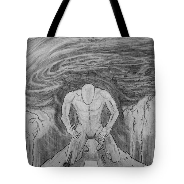 Whom Shall I Fear Part 1 Tote Bag by Justin Moore