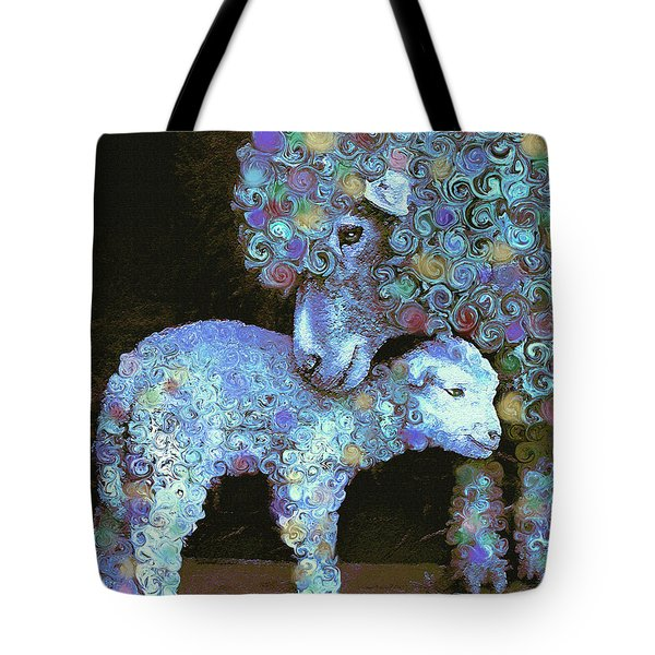 Whose Little Lamb Are You? Tote Bag by Jane Schnetlage