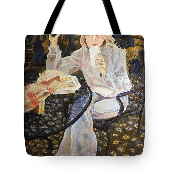 Why Her Tote Bag by Janet Felts