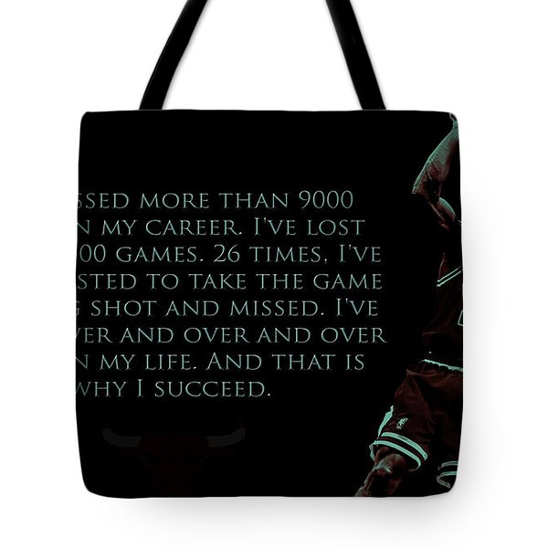 Why I Succeed Tote Bag by Brian Reaves