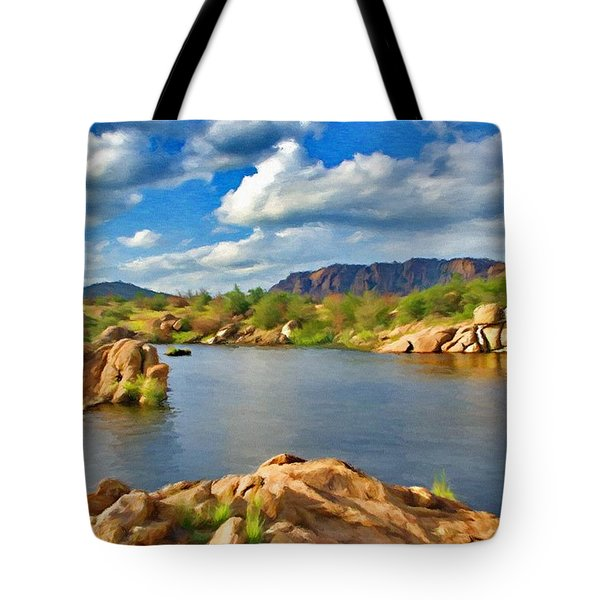 Wichita Mountains Tote Bag by Jeff Kolker